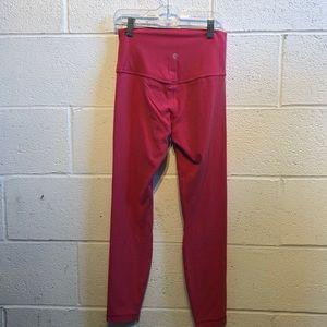 lululemon athletica Pants - Lululemon rose Align 7/8 Pant sz 6 59976